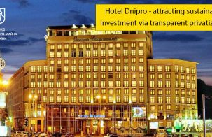 Hotel Dnipro – attracting sustainable investment via transparent privatization